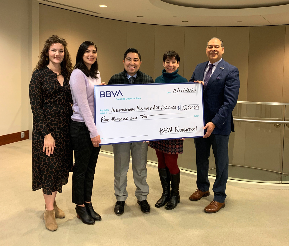 IMAS Receives Grant from BBVA