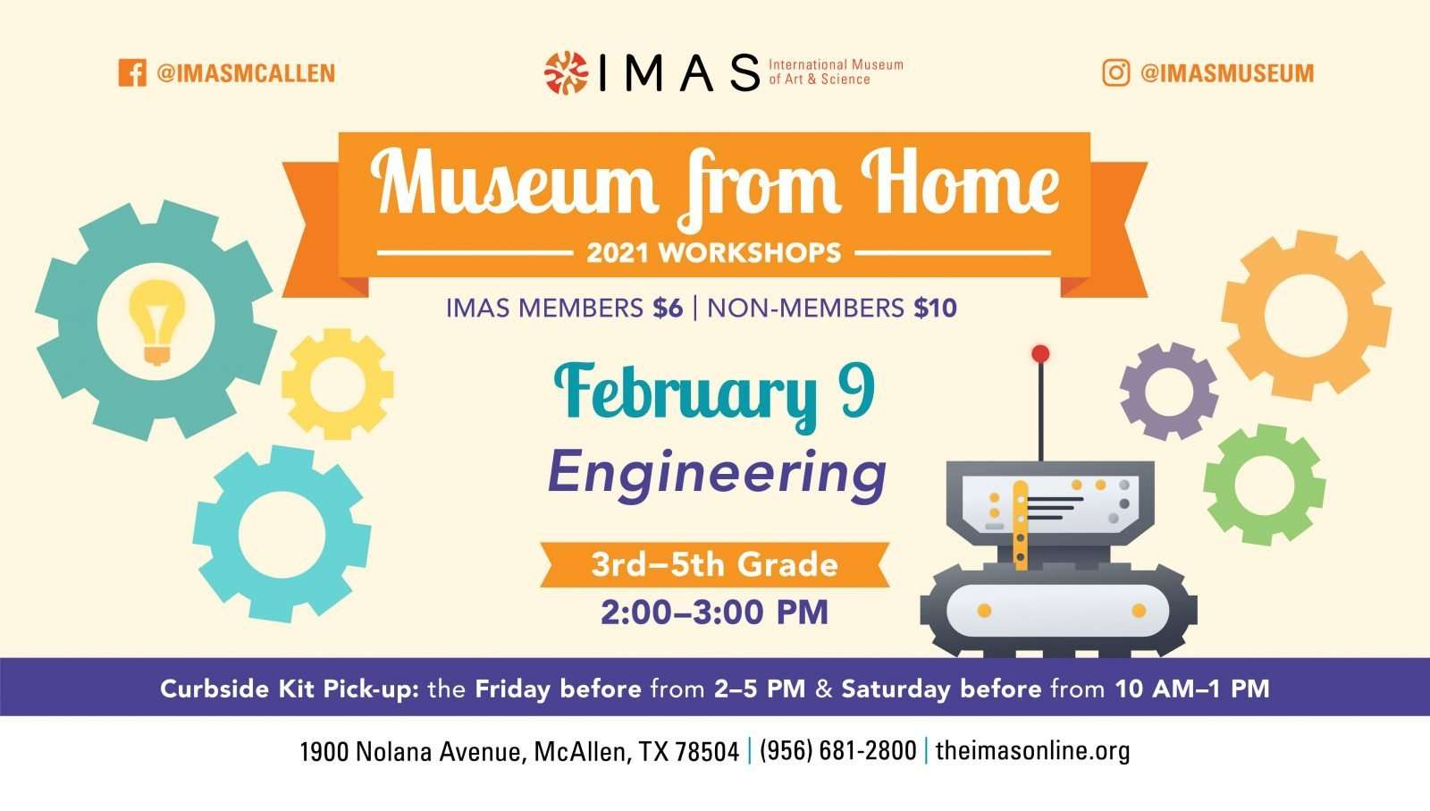Homeschool Days at IMAS - February Engineering
