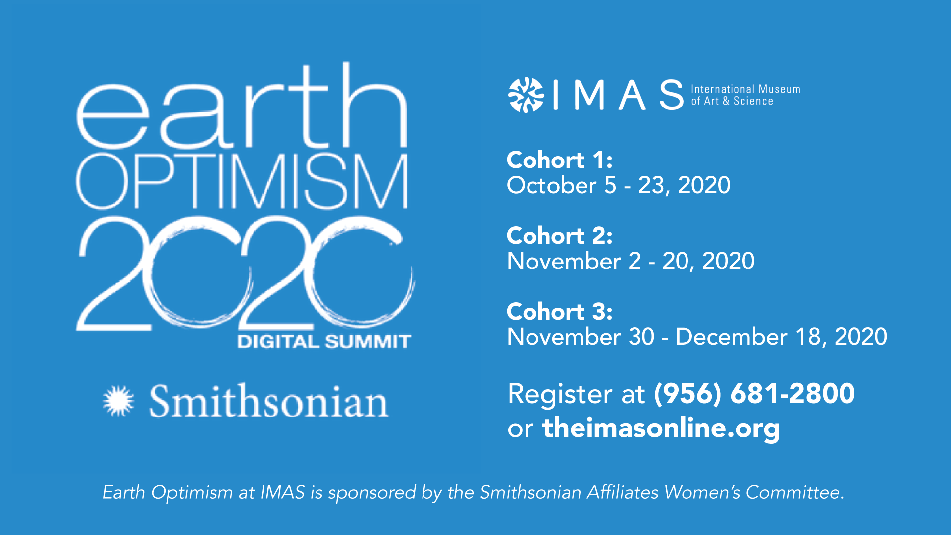 Earth Optimism 2020 Digital Summit for Teens