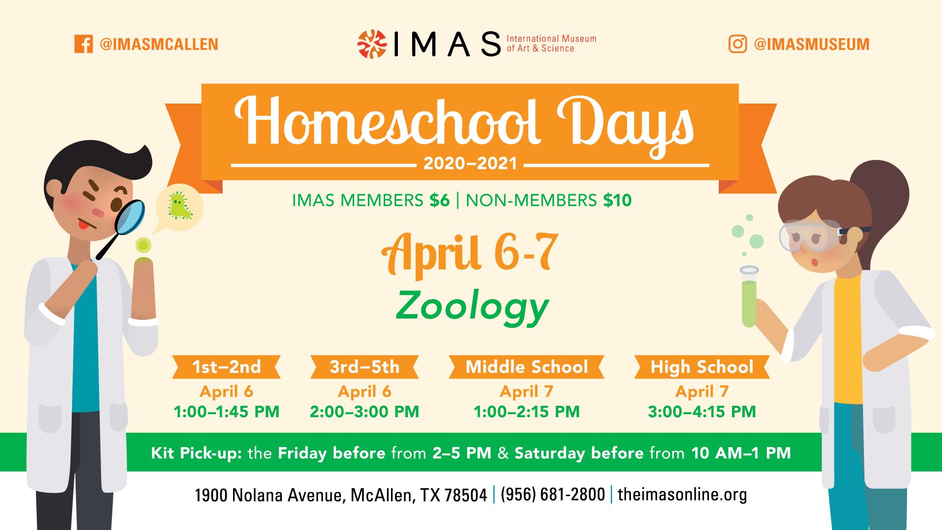 Homeschool Days at IMAS -April