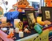 IMAS ofrendas altars for Dia de los Muertos