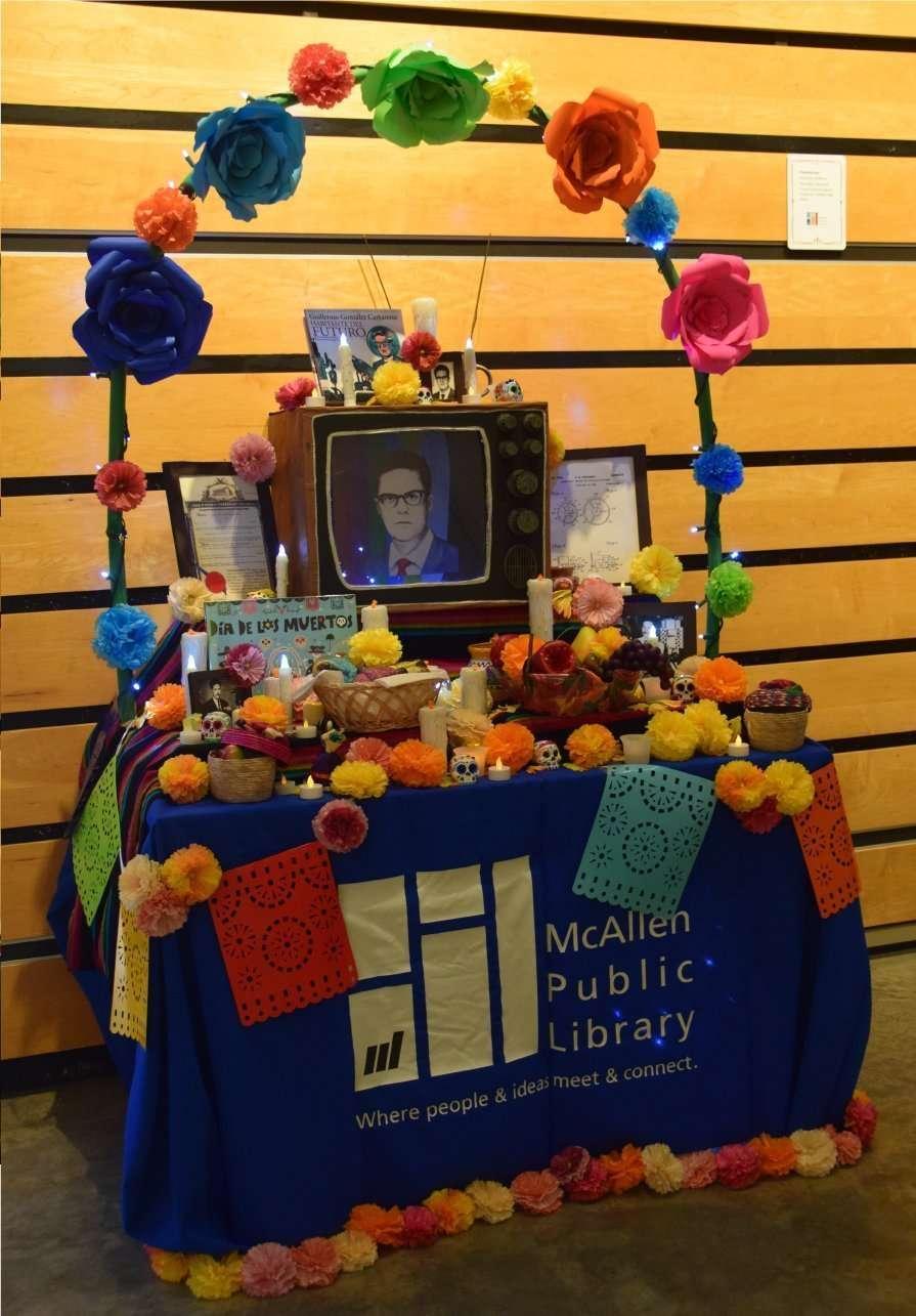 Guillermo Gonzalez Camarena - McAllen Public Library