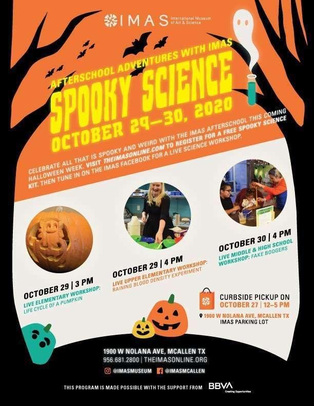 Spooky Science at IMAS with BBVA