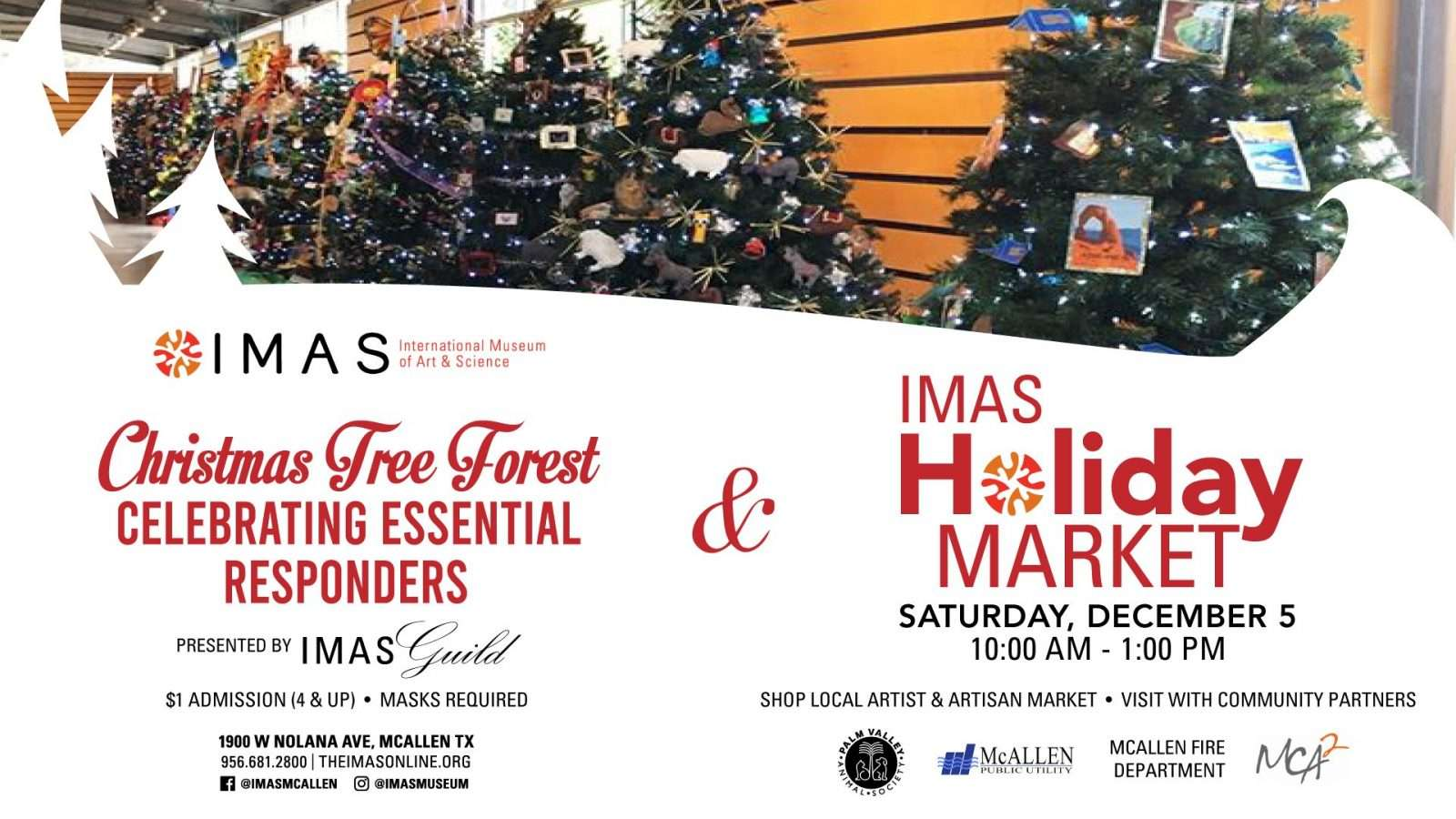 IMAS Holiday Market and Christmas Tree Forest