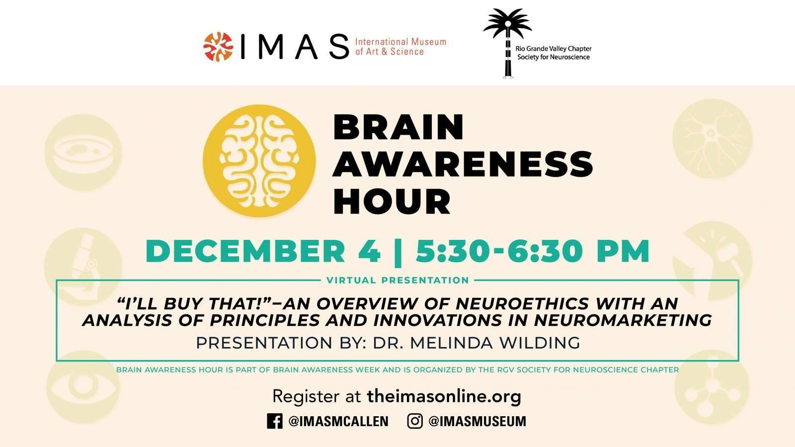 Brain Awareness Hour: Neuroscience December 4