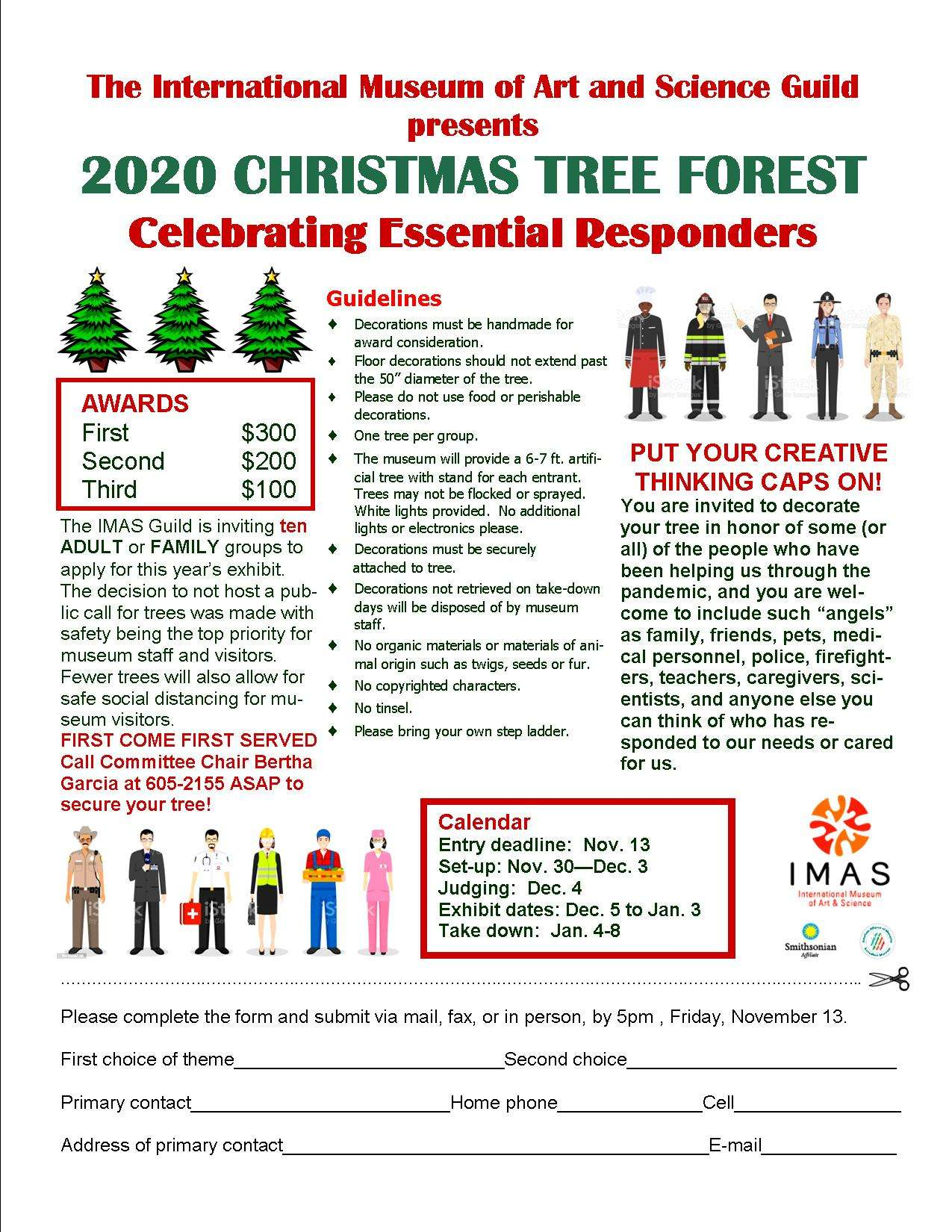 Christmas Tree Forest Entry 2020