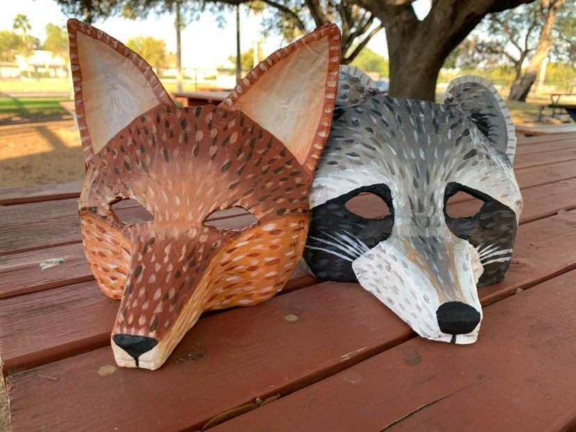 Papier Mache Animal Mask - Workshop Wednesday with IMAS