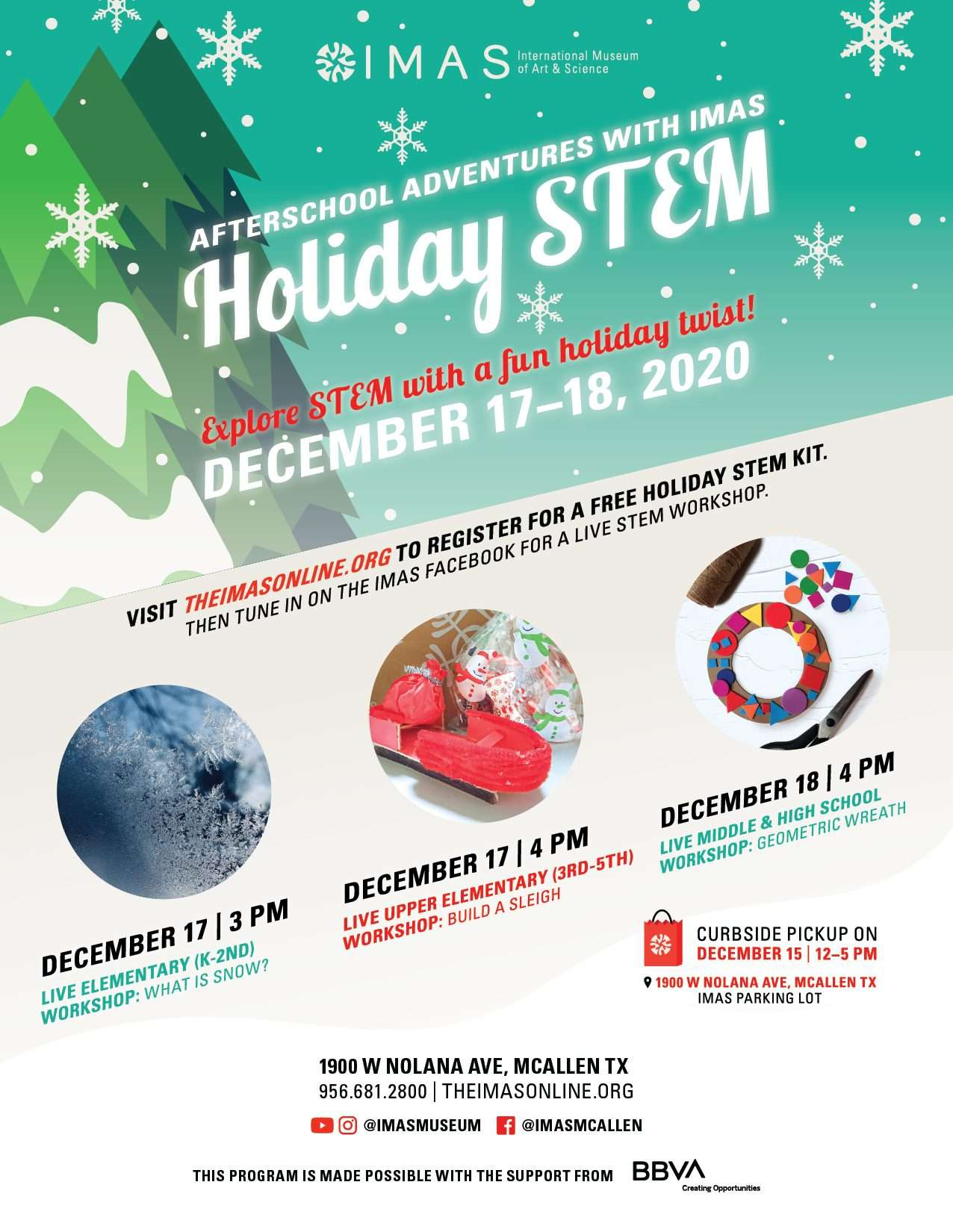 Holiday STEM at IMAS