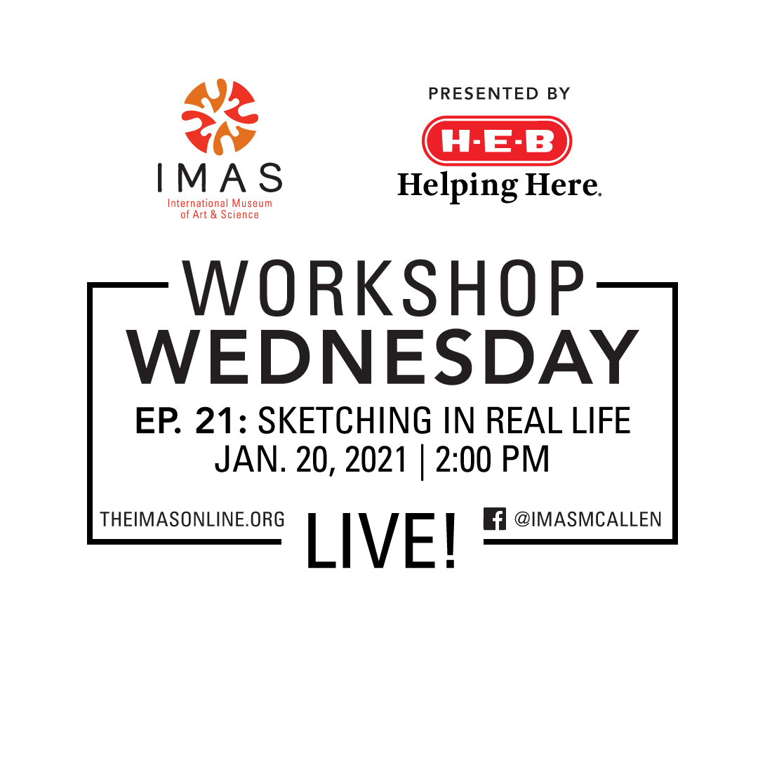 Sketching in Real Life - Workshop Wednesday