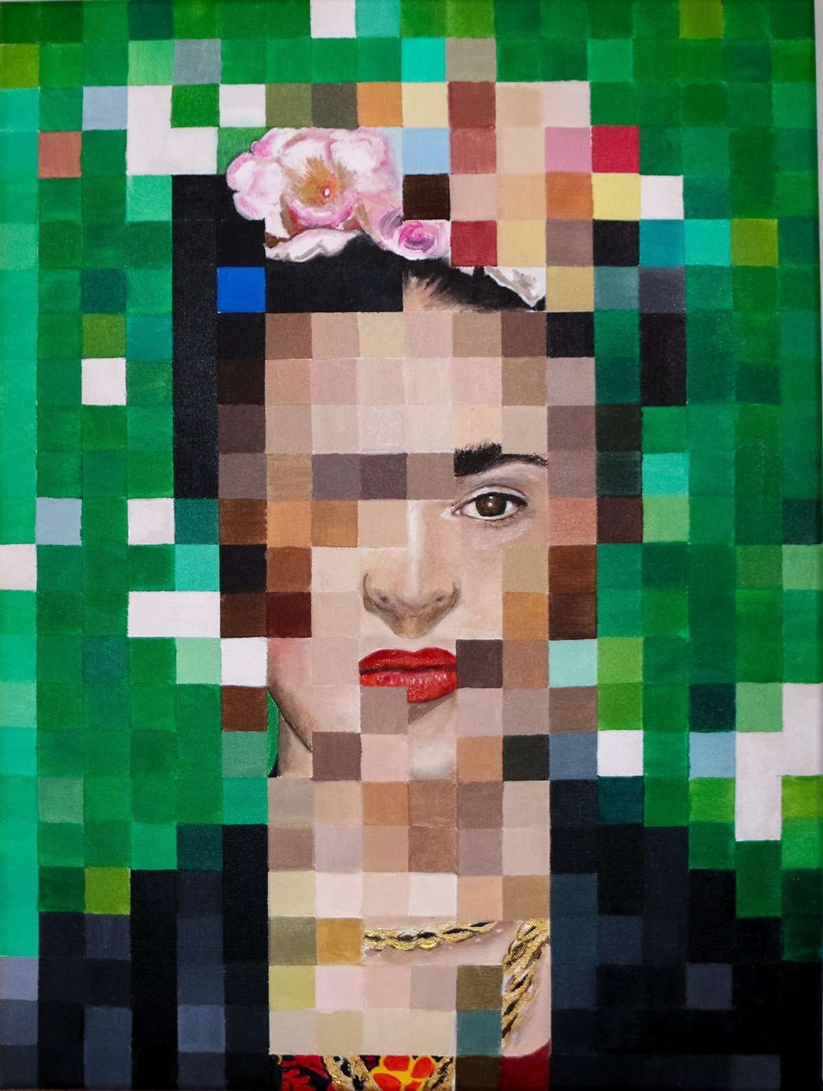 8-bit Frida, The World of Frida at IMAS