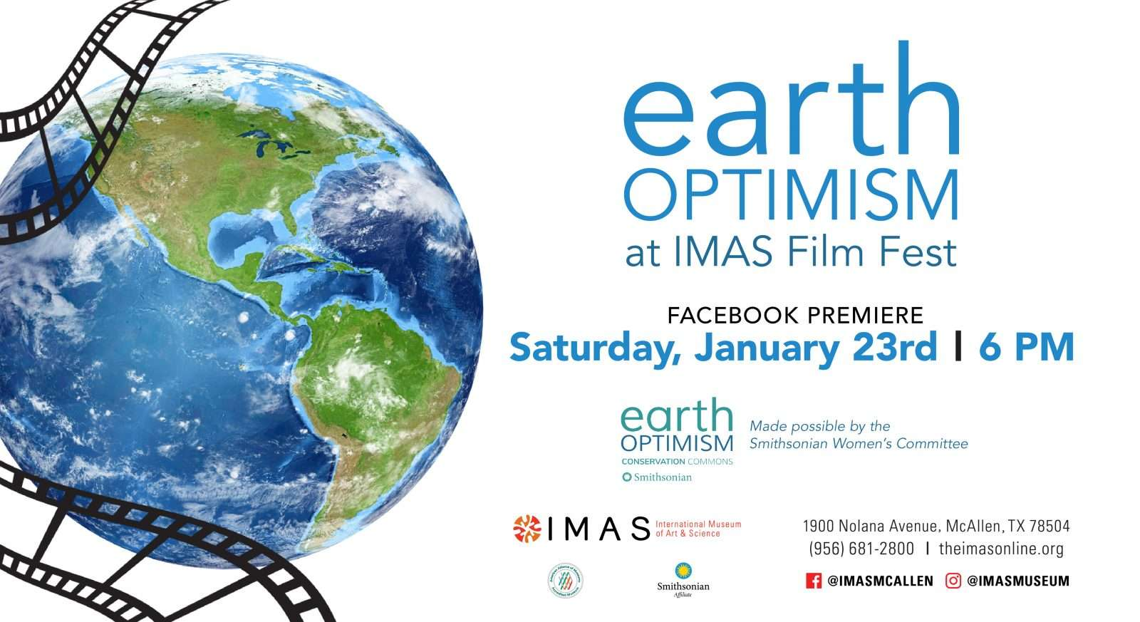 Earth Optimism Film Fest at IMAS
