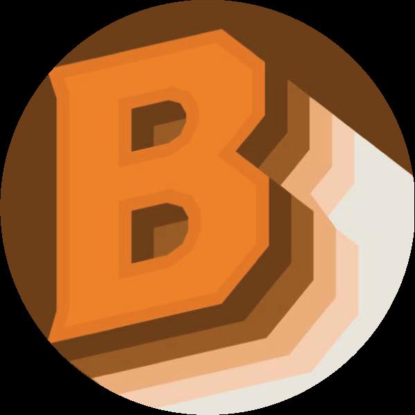 B in circle