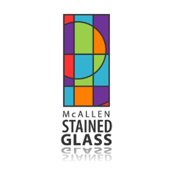 McAllen Stained Glass circle