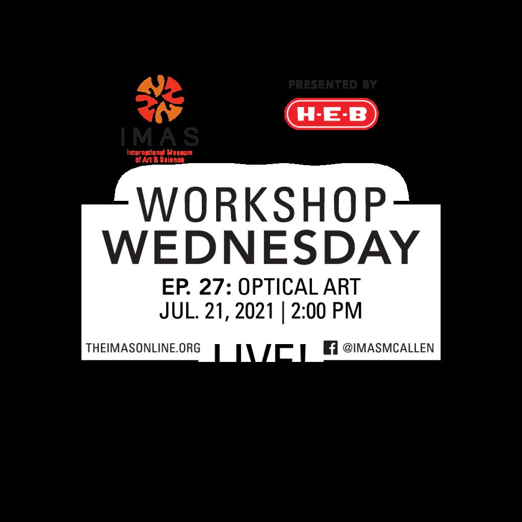 Workshop Wednesday Live