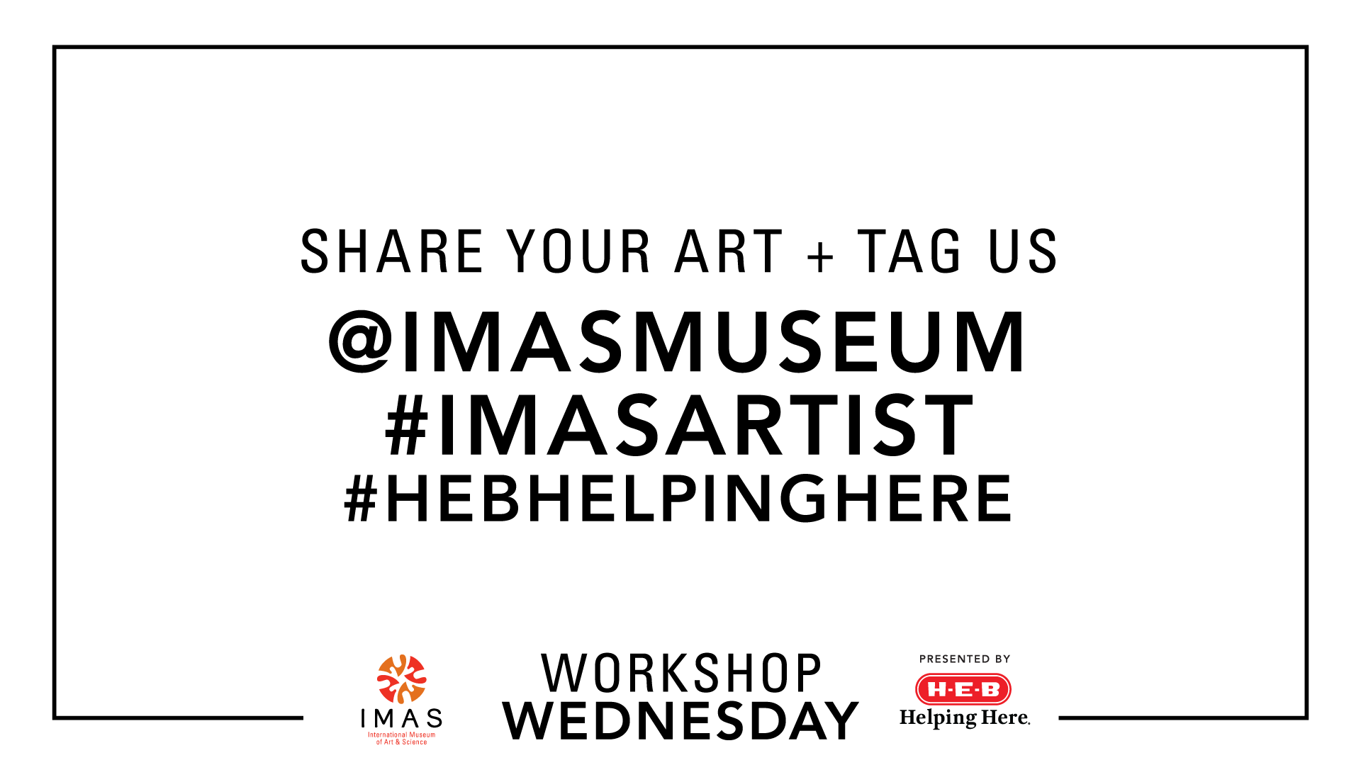 Workshop Wednesday HEB Social tags
