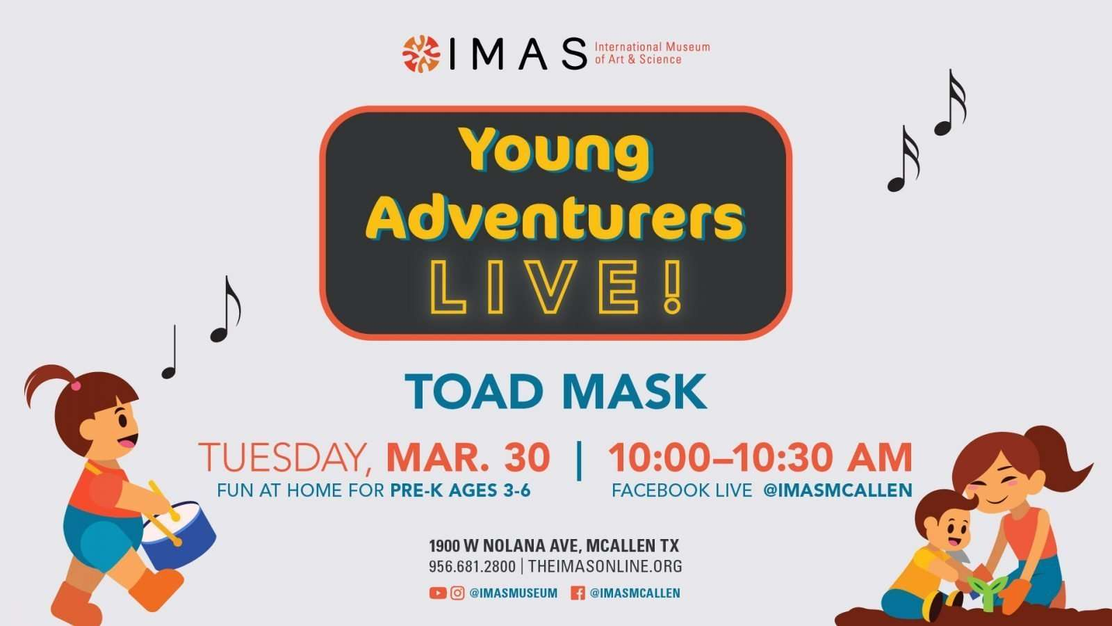 3 30 21 YoungAdventurers fb event 1