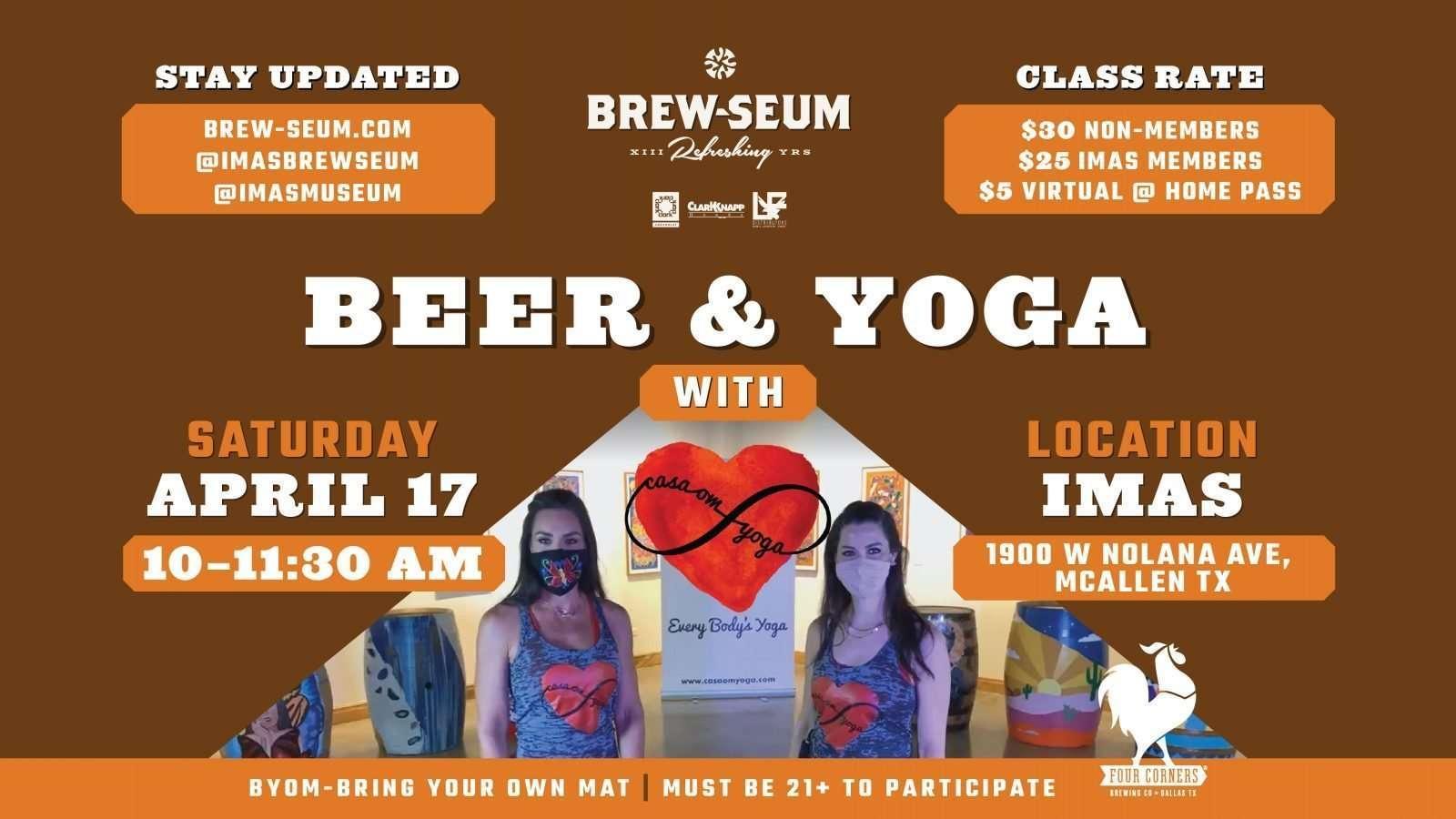 Casa Om Yoga MAR11 FB event