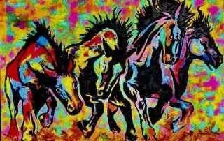 Jason Ray Perez - Riders on The Storm - Members Juried Exhibit
