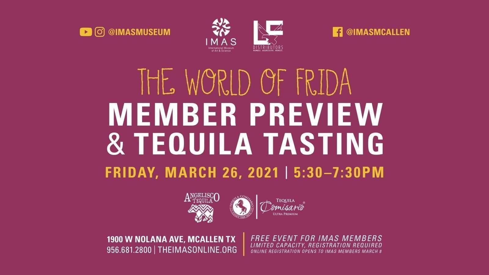 Tequila Tasting TIMECHANGE FB event