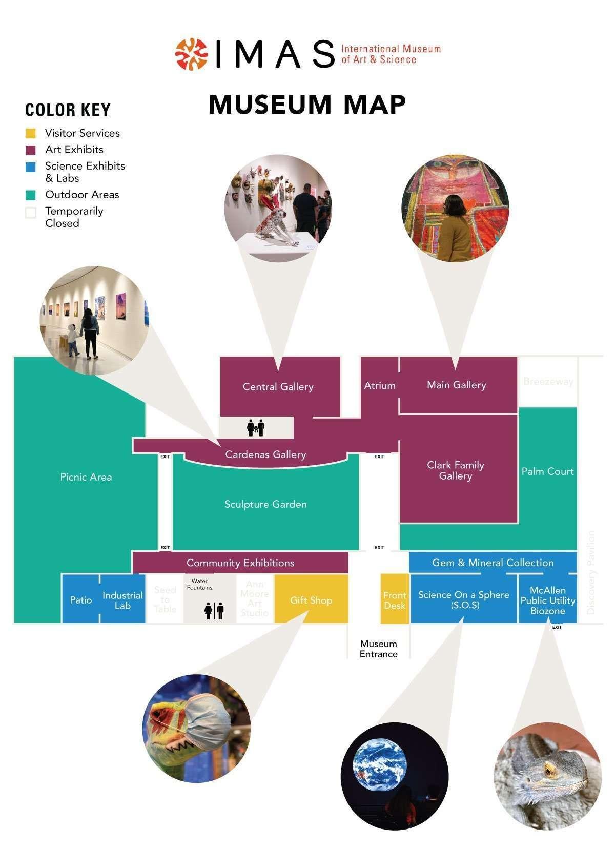 IMAS Museum Map