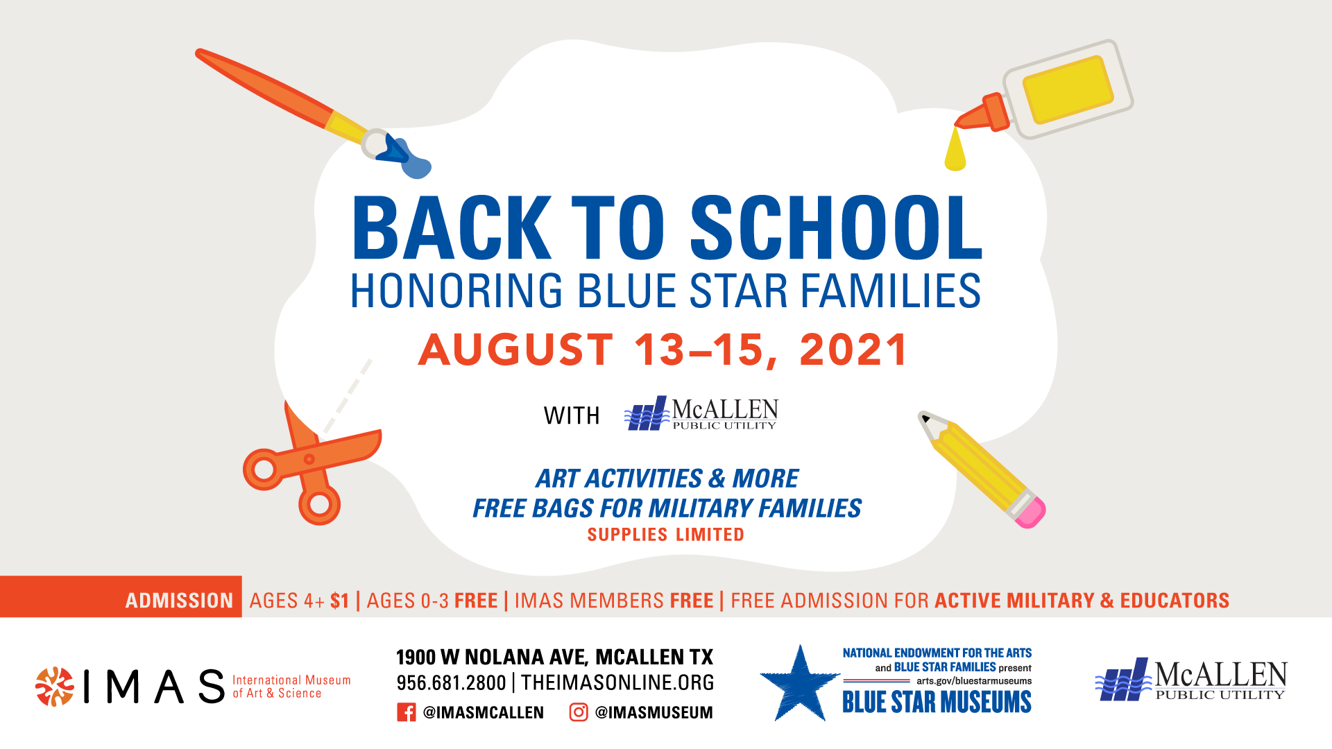 Back to School Weekend Honoring Blue Star Families with MPU