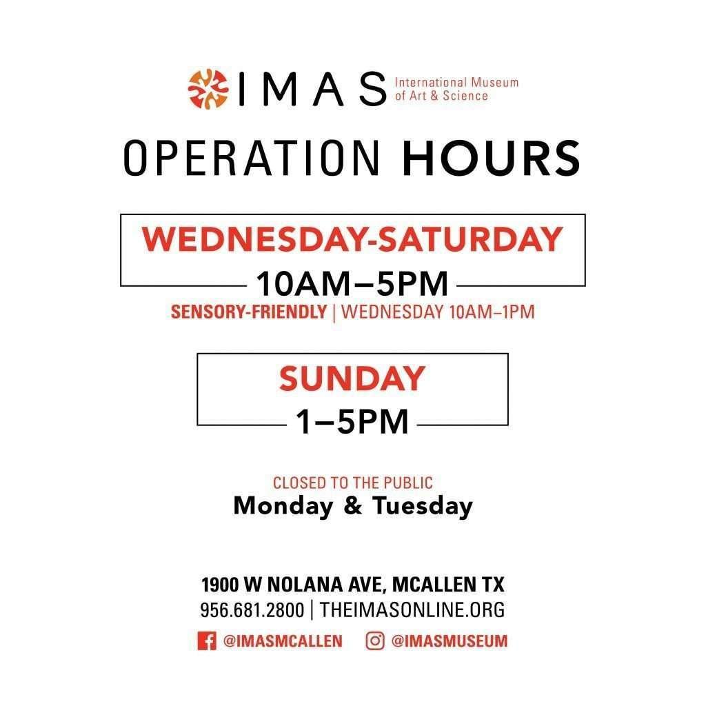 IMAS Hours of Operation
