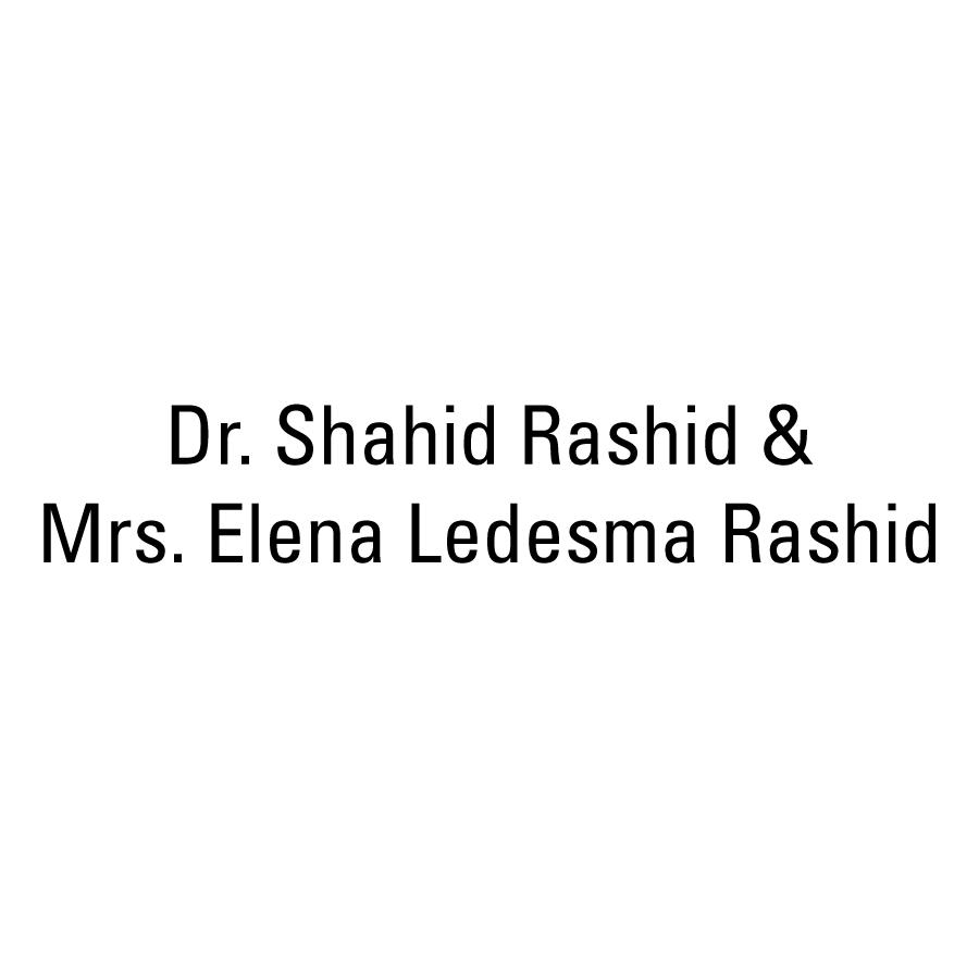 Dr. Shahid Rashid Sapphire Sponsor IMAS