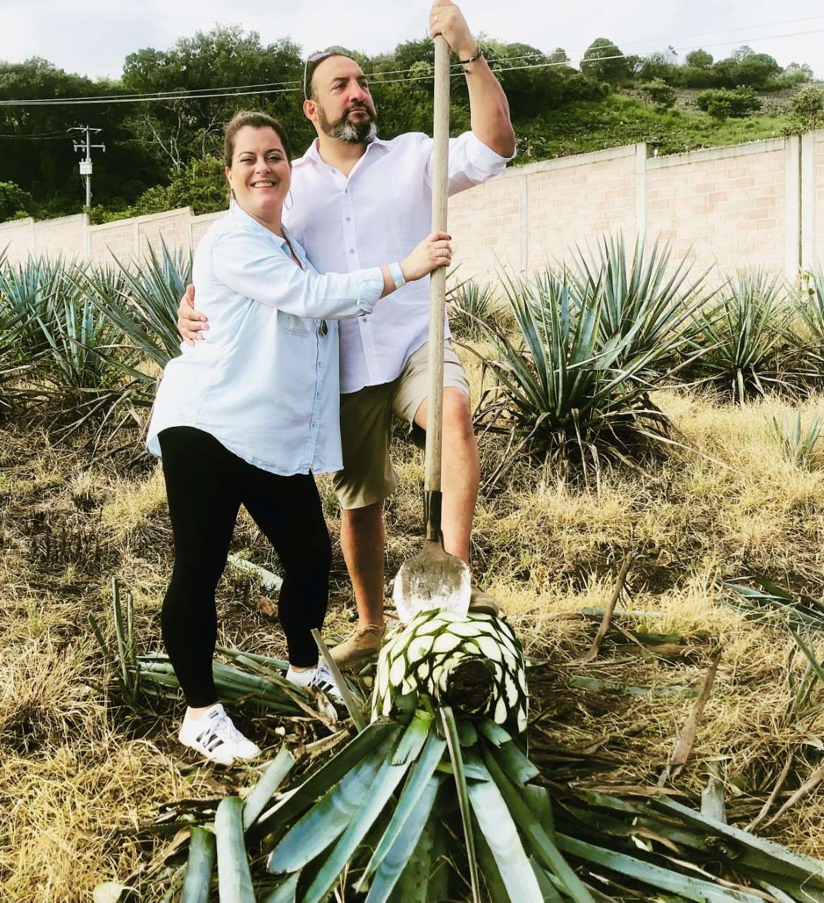 Tequila Tour for 2 hosted by Larry & Jessica Delgado