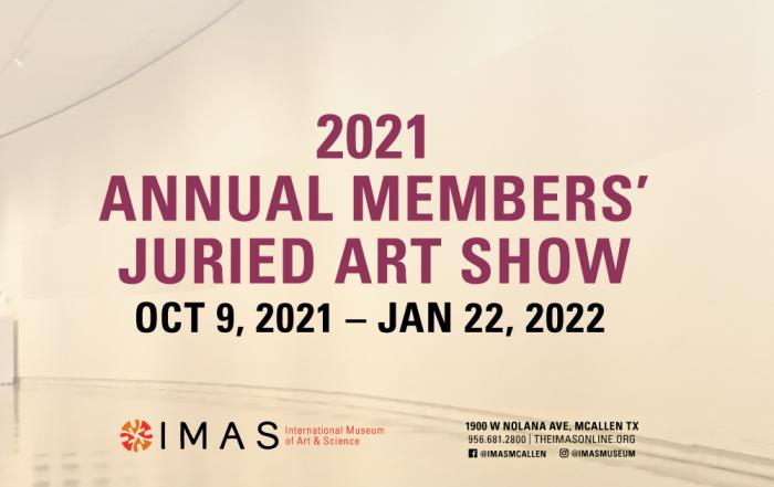 IMAS Members Juried Show 2021